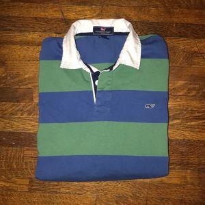 Vineyard Vines striped rugby shirt